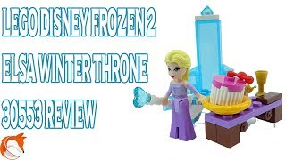 30553 LEGO Disney Frozen 2 Elsas Winter Throne Review