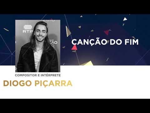 Canção do Fim (45'') - Diogo Piçarra | Festival da Canção 2018