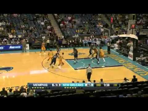 NBA December 7 2012: New Orleans Hornets vs Memphis Grizzlies Highlights