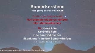 Somerkersfees - ProTrax Karaoke Demo