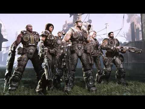 Gears of War 3 - Xbox 360 - OG Slick graffiti artist T-shirt official video game trailer HD