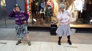 Fizzogs 'Dancing Grannies' Take Bhangra To Touchwood
