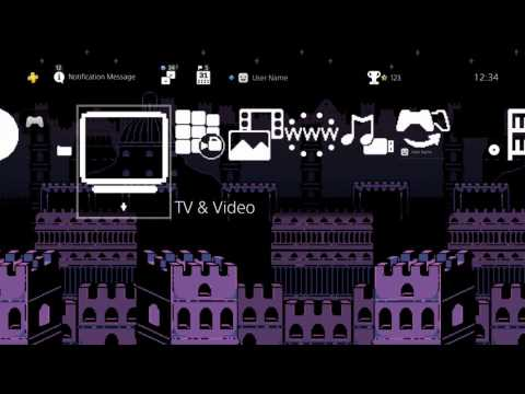 "UNDERTALE PlayStation 4 Dynamic Theme ""Ruins"""