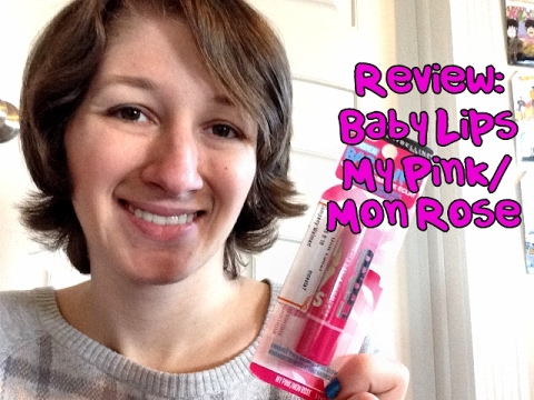 Review Baby Lips My Pink Mon Rose Lip Balm Youtube