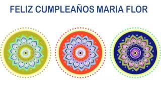 MariaFlor   Indian Designs - Happy Birthday
