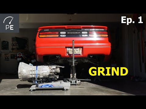 Project 300ZX / Ep. 1 / Transmission Issues And Removal