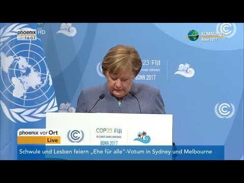 Rede von Bundeskanzlerin Angela Merkel beim UN-Klimagipfel am 15.11.17