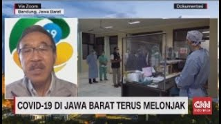 Covid-19 di Jawa Barat Terus Melonjak