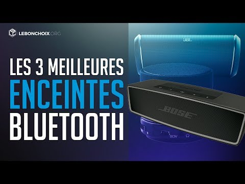 comparatif des meilleures enceintes bluetooth notre top. Black Bedroom Furniture Sets. Home Design Ideas