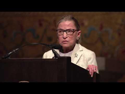 Stanford Rathbun Lecture 2017  - Ruth Bader Ginsburg