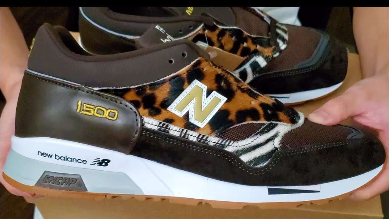 Joe Exotic x New Balance?!?! New Balance 1500 Made In England Animal Pack  Brown Review!