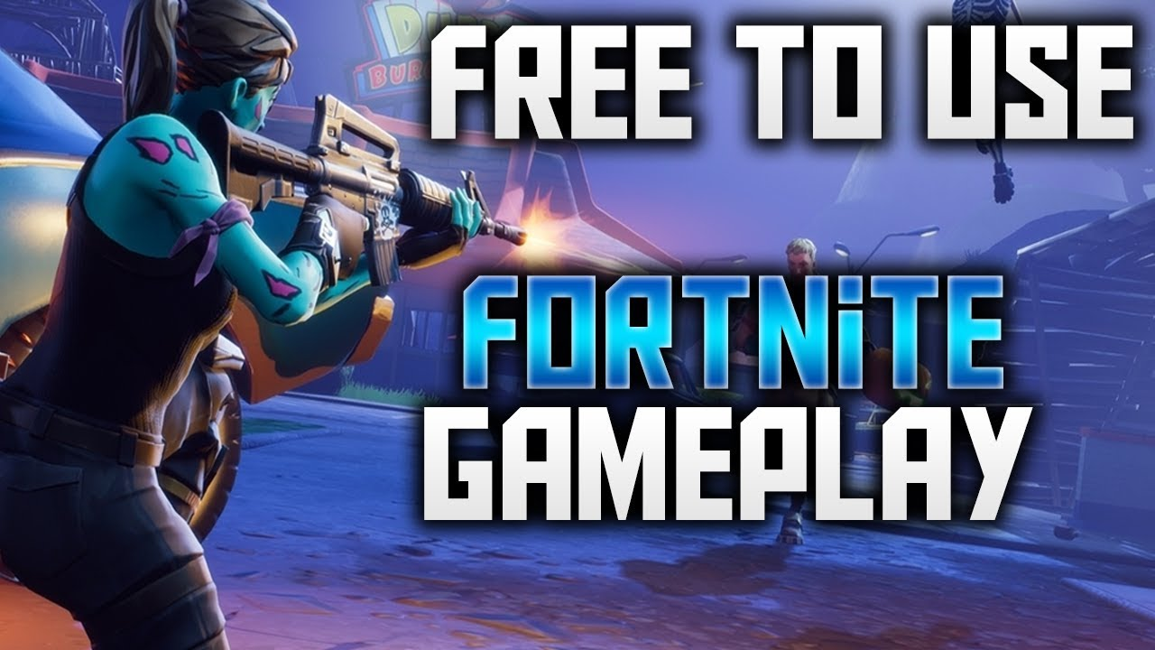 Free To Use Gameplay Fortnite P Hd