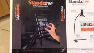 Review Of Standzfree Ipad Tablet Floor Stand