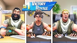 Jza Crew FREESTYLING & Got a Win (Fortnite Funny Momments)