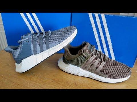 Adidas Originals EQT Support 93/17 in Blue & Khaki!