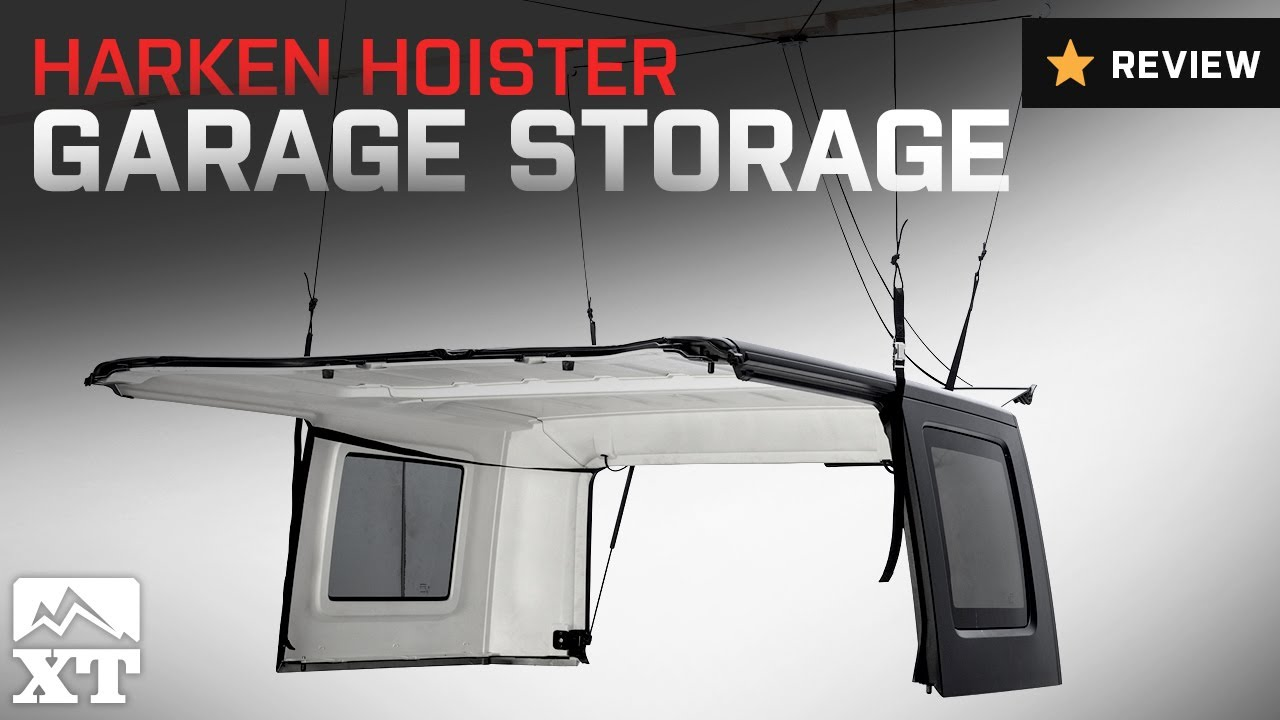 Jeep Wrangler Harken Hoister Garage Storage 4 Point Lift
