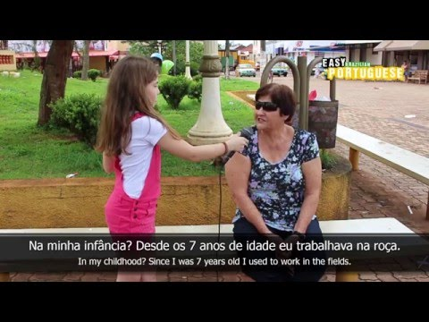 Easy Brazilian Portuguese 8 - Childhood memories