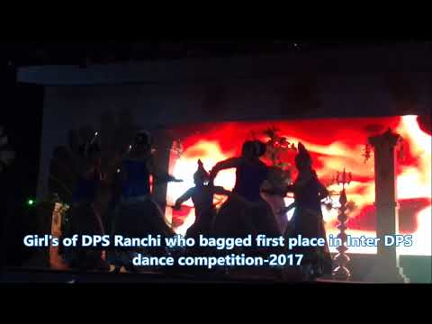 Girl's of DPS Ranchi bagged First place in NRITYANJALI, the annual Inter DPS dance competition 2017