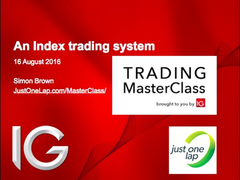 A Complete Index Trading System