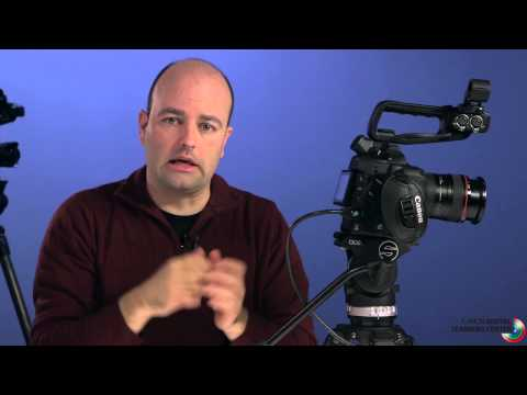 Setting up the EOS C100 for Shooting, Part 1