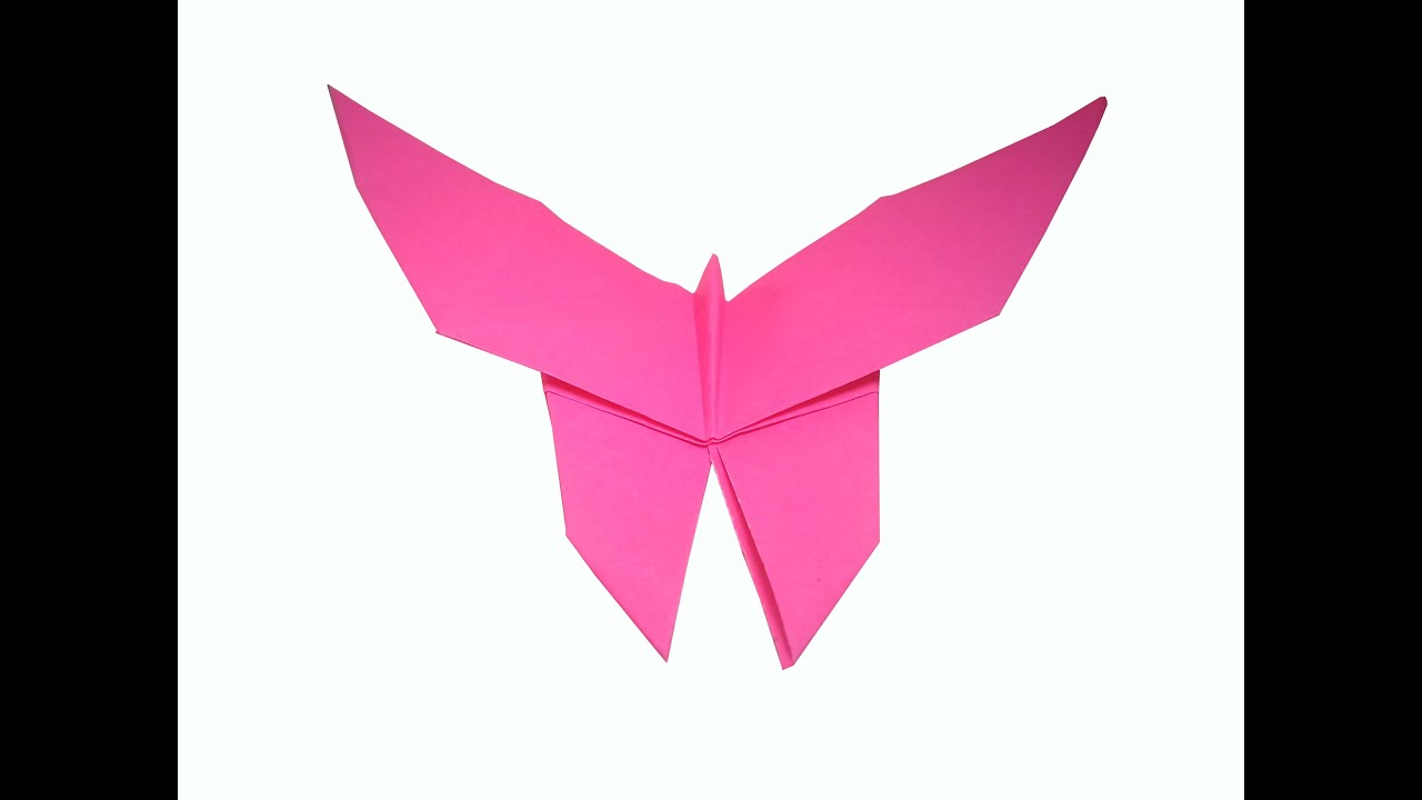 How to make Origami Butterfly ( very easy ) : DIY Crafts ... - photo#1