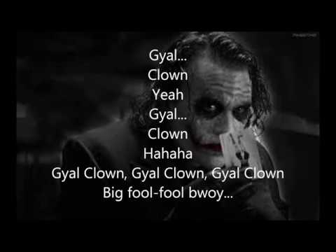 GovanaGal Clown Lyrics
