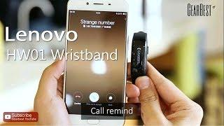 lenovo HW01 Smart Wristband - Gearbest.com