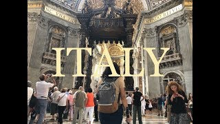 TRAVEL VLOG - ITALY