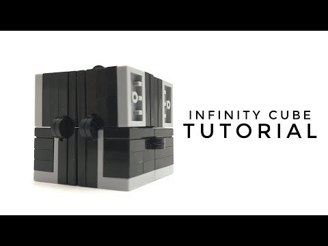 How to Build a LEGO INFINITY CUBE!