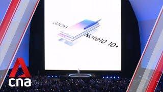 Samsung unveils Galaxy Note 10