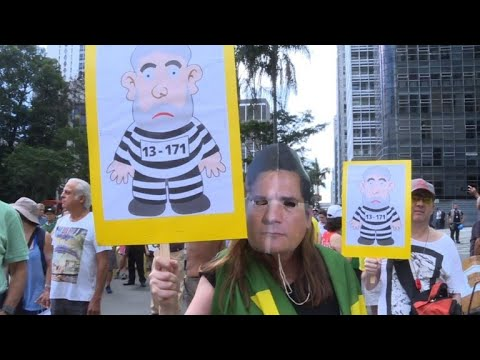 Manifestação contra Lula em SP