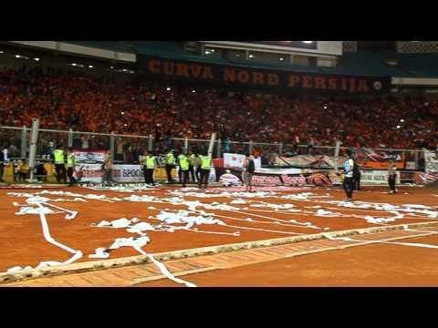 Curva Nord Persija - Trofeo Persija Jakarta ( 85th Anniversary Persija Jakarta ) 29/12/2013