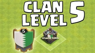 CLAN LEVEL 5! || CLASH OF CLANS || Let's Play CoC [Deutsch/German HD Android iOS PC]