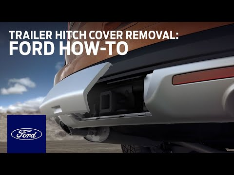 Explorer Trailer Hitch Cover Removal Ford How To Ford