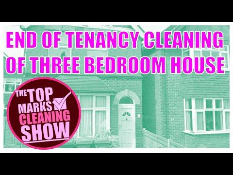 End of Tenancy Clean of Three Bedroom House