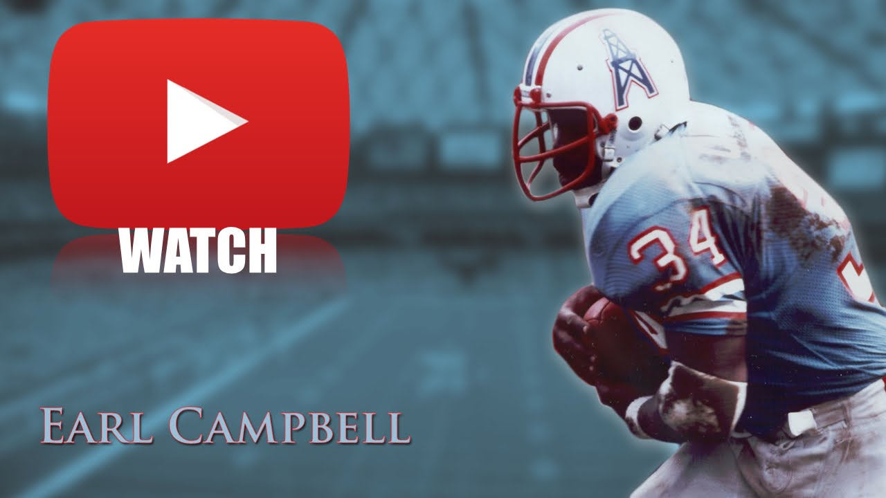 Nfl Wallpaper Hd Earl Campbell Quot The Human Wrecking Ball Quot Career