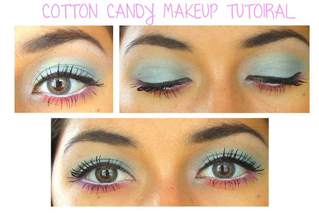 Cotton Candy Eye Makeup Tutorial Youtube