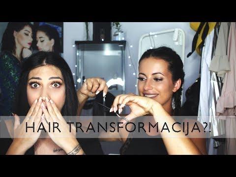 Irresistible me hair transformation (šišanje, feniranje, farbanje, stavljanje ekstenzija)