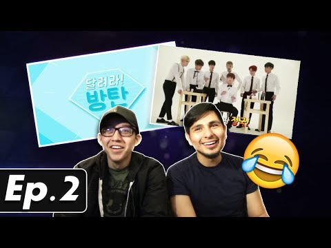 GUYS REACT TO BTS 'Run BTS' Ep. 2