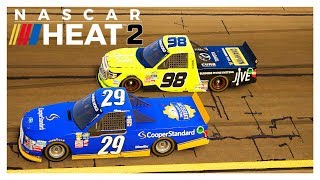 NASCAR Heat 2 | Career Mode Ep 10 | Atlanta Speedway | Racing Video Game Simulator | Cockpit View
