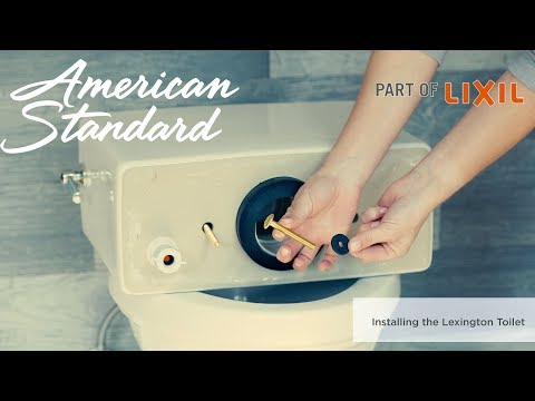 How To Install The Lexington Toilet By American Standard