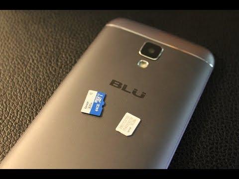 Blu M5 Studio.... Remove / Install SIM CARD AND MEMORY CARD