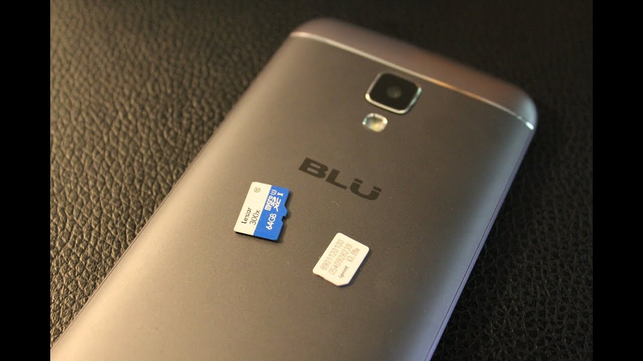 new arrival 8436b 952ac Blu M5 Studio.... Remove / Install SIM CARD AND MEMORY CARD