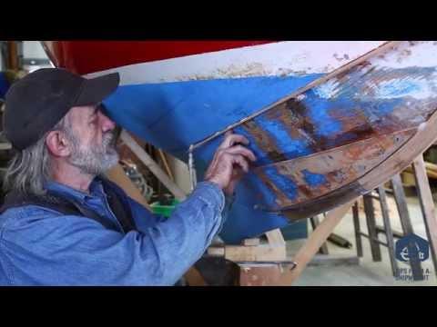 Part 12 - How to caulk a wide seam - RHODE ISLAND RED II Herreshoff 12 1/2
