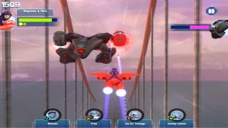 Big Hero 6 Baymax Sky Patrol Defeated Supervillain Bot Training
