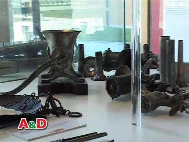Musei del Cibo. Museo del Prosciutto di Parma: L. Gli strumenti - La salumeria