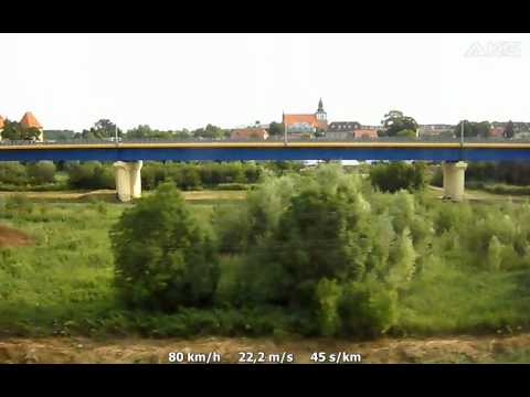 Jazda pociągiem interREGIO rel. Świnoujście - Poznań Główny (fragm. Wolin Pomorski - Troszyn)