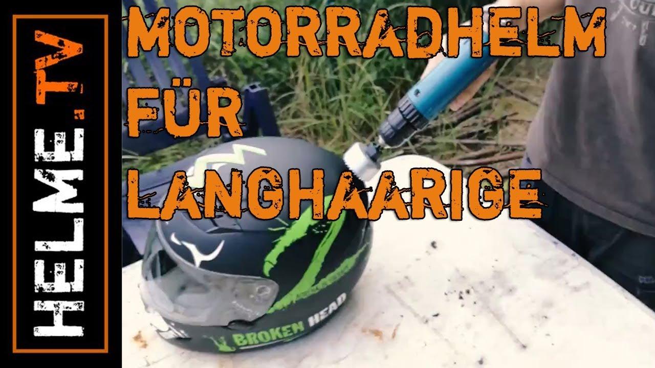 Customized Stefan Von Helme Madl Bastelt Einen Motorradhelm Fur