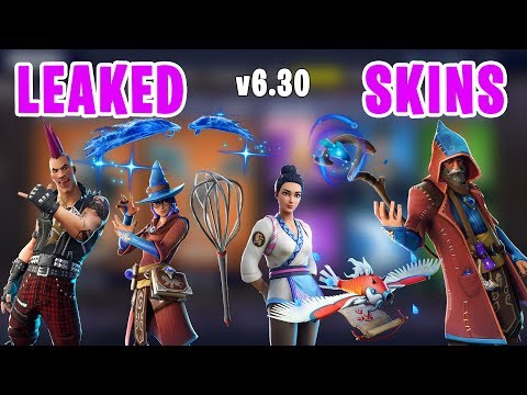 *new-leaked*-fortnite-skins,-wizard,-riot,-magic-wings-glider-&-more---v6.30