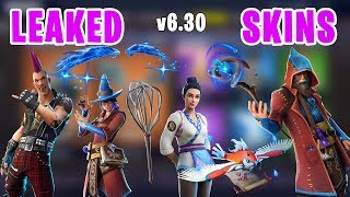 *NEW LEAKED* Fortnite Skins, Wizard, Riot, MAGIC WINGS Glider & More - v6.30